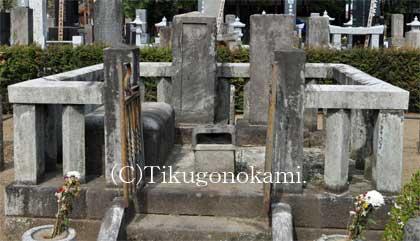 熊沢蕃山の墓