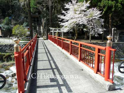 岩屋堂神社橋
