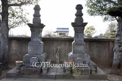 土井利勝夫妻の墓