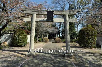 聰敏神社の鳥居