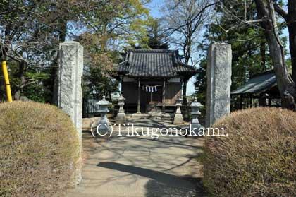聰敏神社の拝殿