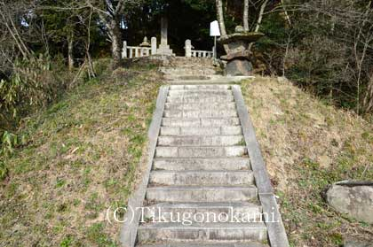 奥津城入り口