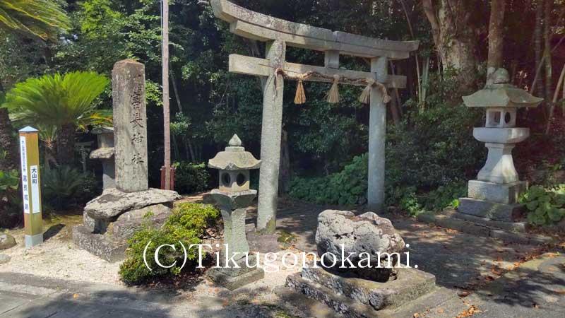 富長神社の鳥居