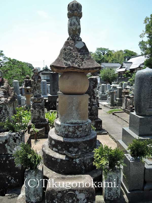 小次郎の墓