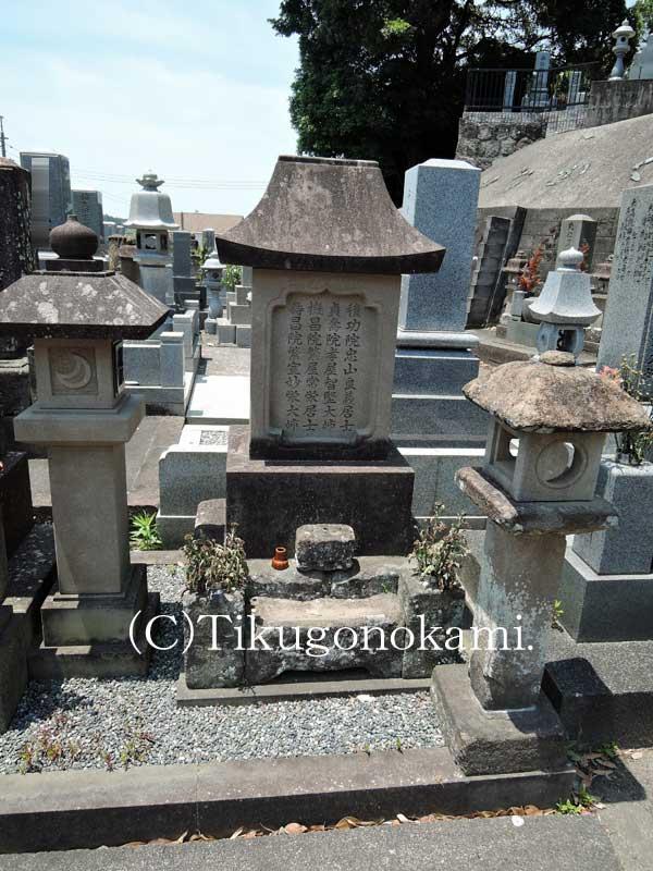 清原太兵衛の墓