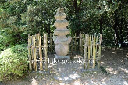 細川氏政の墓