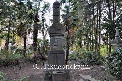 永井直勝の墓