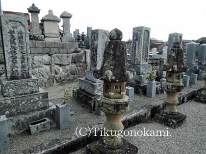 橋井家墓所