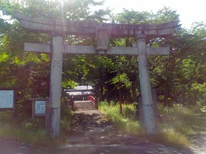 上小鴨神社